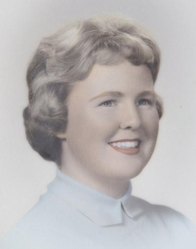 Donna Beveridge in 1961
