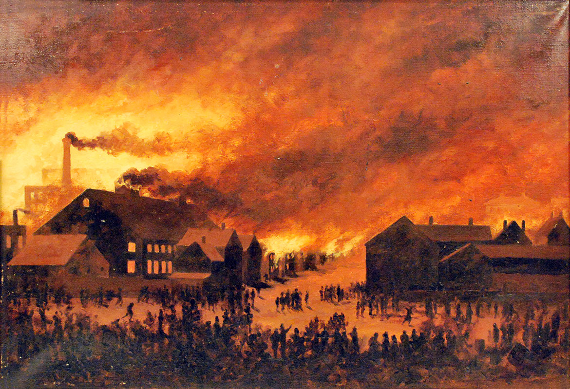 the night portland burned portland press herald